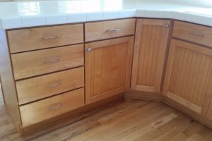 Capitol Hill Seattle - cabinet refinishing