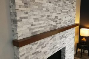 fireplace custom build Bellevue